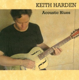 [Keith Harden - Acoustic Blues - Front Cover]