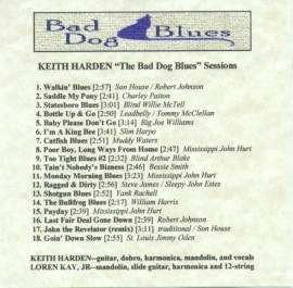 [Keith Harden - Bad Dog Blues Sessions]