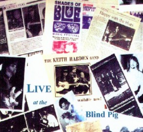 [Keith Harden Band - Live at the Blind Pig 11-26-96 - Front Cover]