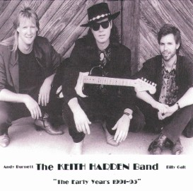 [Keith Harden Band - The Early Years - Front Cover]