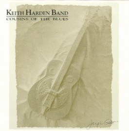 [Keith Harden - Cousins of the Blues - Front Cover]